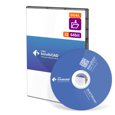 CMS IntelliCAD 8.1 PE Plus Dual