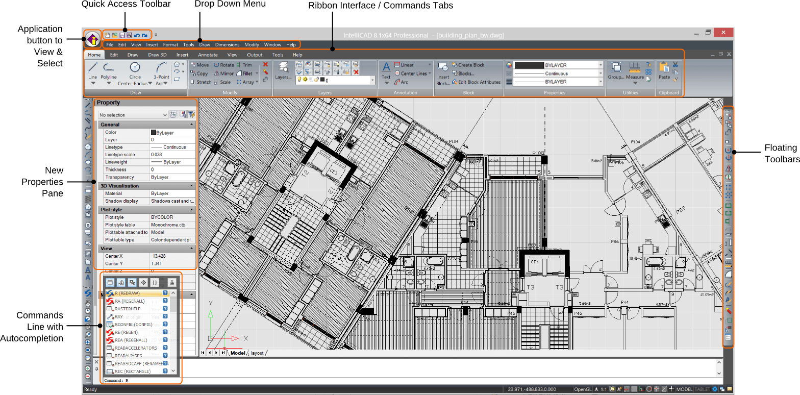 Cms intellicad 2d 3d dwg compatible cad software autocad Free cad programs
