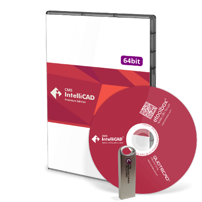 CMS IntelliCAD 10 PE Disk & USB Stick