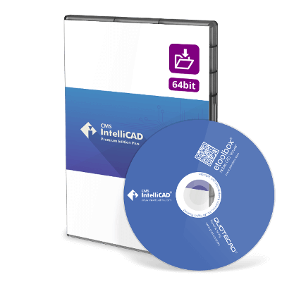 CMS IntelliCAD 8.4 Premium Plus
