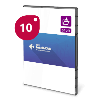 CMS IntelliCAD 10 PE+ Extended Download