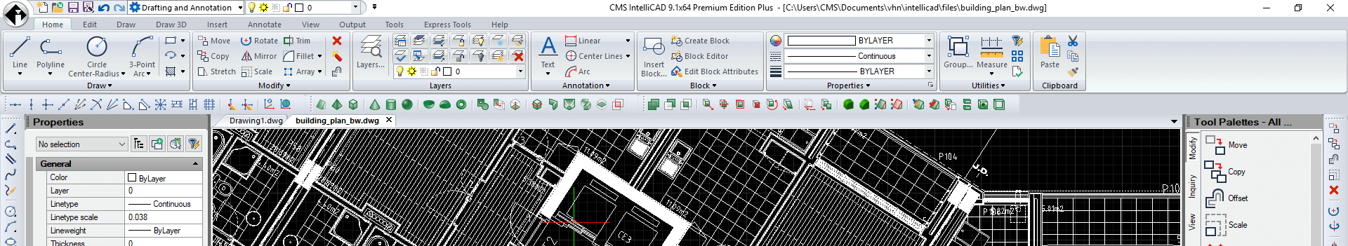 Compatible CAD Software for  DWG files - CMS IntelliCAD